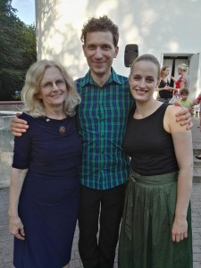 Dace is the mastermind of Sigulda International masterclasses, and Laura is a violinist and a long-time friend. We performed G.Pelecis' NEVERTHELESS concerto for the Gala event